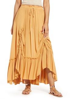 Free People El Sol Convertible Maxi Skirt