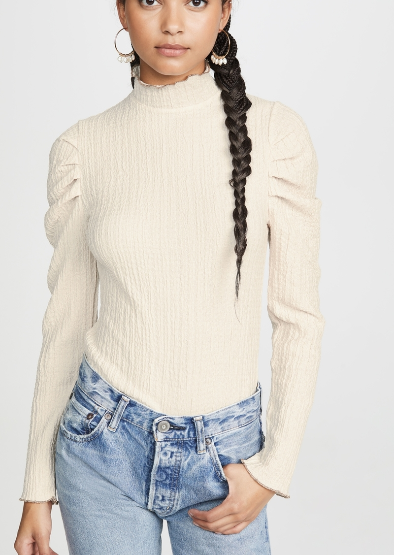 Free People Ela Turtleneck Long Sleeve Tee