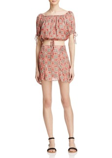 Free People Electric Love Printed Two-Piece Dress