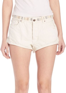 Free People Eliot Embroidered Short