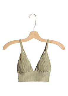 Free People Ellery Metallic Sweater Bralette