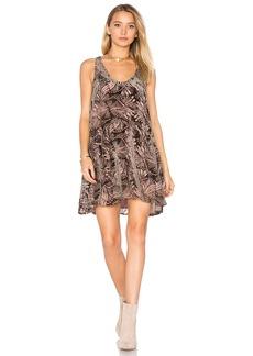 Free People Ellie Burnout Velvet Dress
