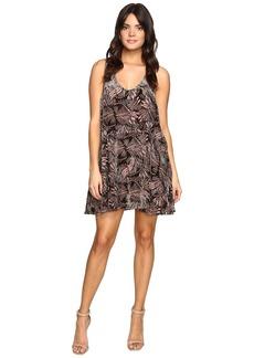Free People Ellie Velvet Mini Dress