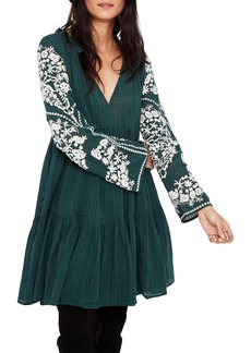 Free People Emerald City Shift Dress