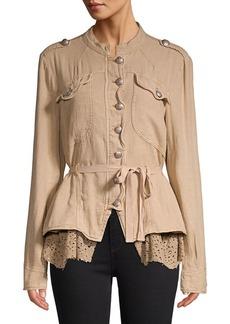 Free People Emilia Peplum Jacket