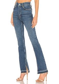 Free People Emmy Split Hem Boot Cut Jean
