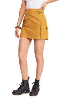 Free People Erika Utility Skirt