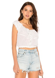 Free People Eyelet You A Lot Top