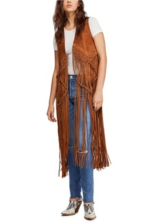 Free People Fable Suede Vest