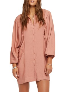 Free People Fade Away Shirtdress