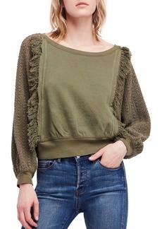 Free People Faff Fringe Sweater