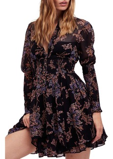 Free People Fake Pretend Babydoll Dress