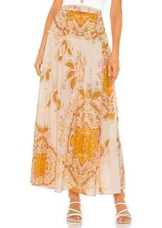 Free People Farrah Drop Waist Skirt