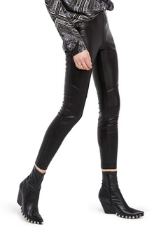 Free People Faux Leather Leggings