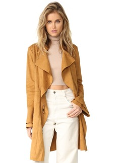Free People Faux Suede Meadow Jacket