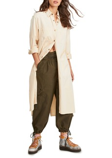 Free People Fearless Longline Shirt