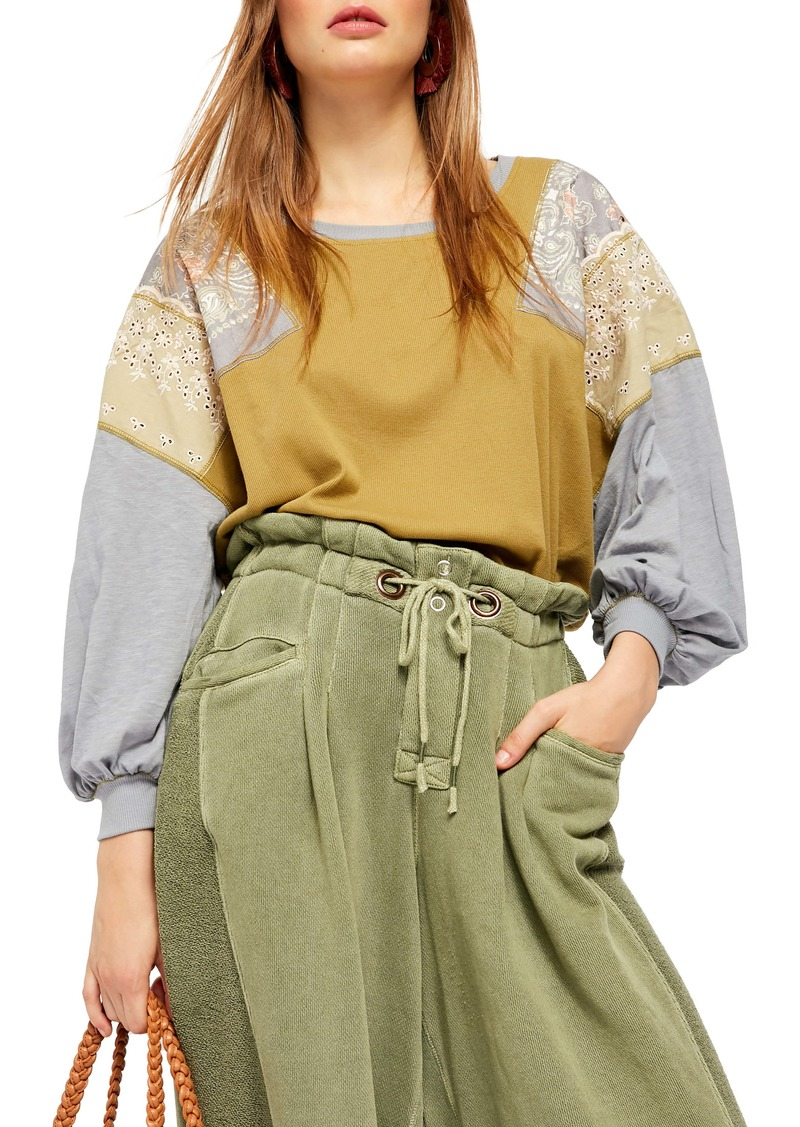 Free People Feelin' It Patch Shirt