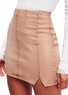 Free People Femme Fatale Pull On Skirt