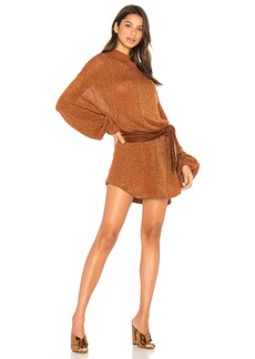 Free People Fete Sweater Dress in Burnt Orange. - size M (also in L,XS)