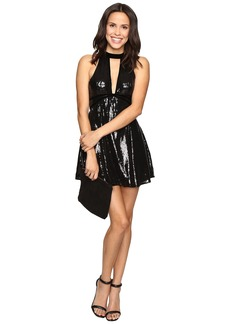 Free People Film Noir Sequin Mini Dress