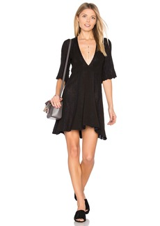 Free People Find Your Love Sweater Mini Dress