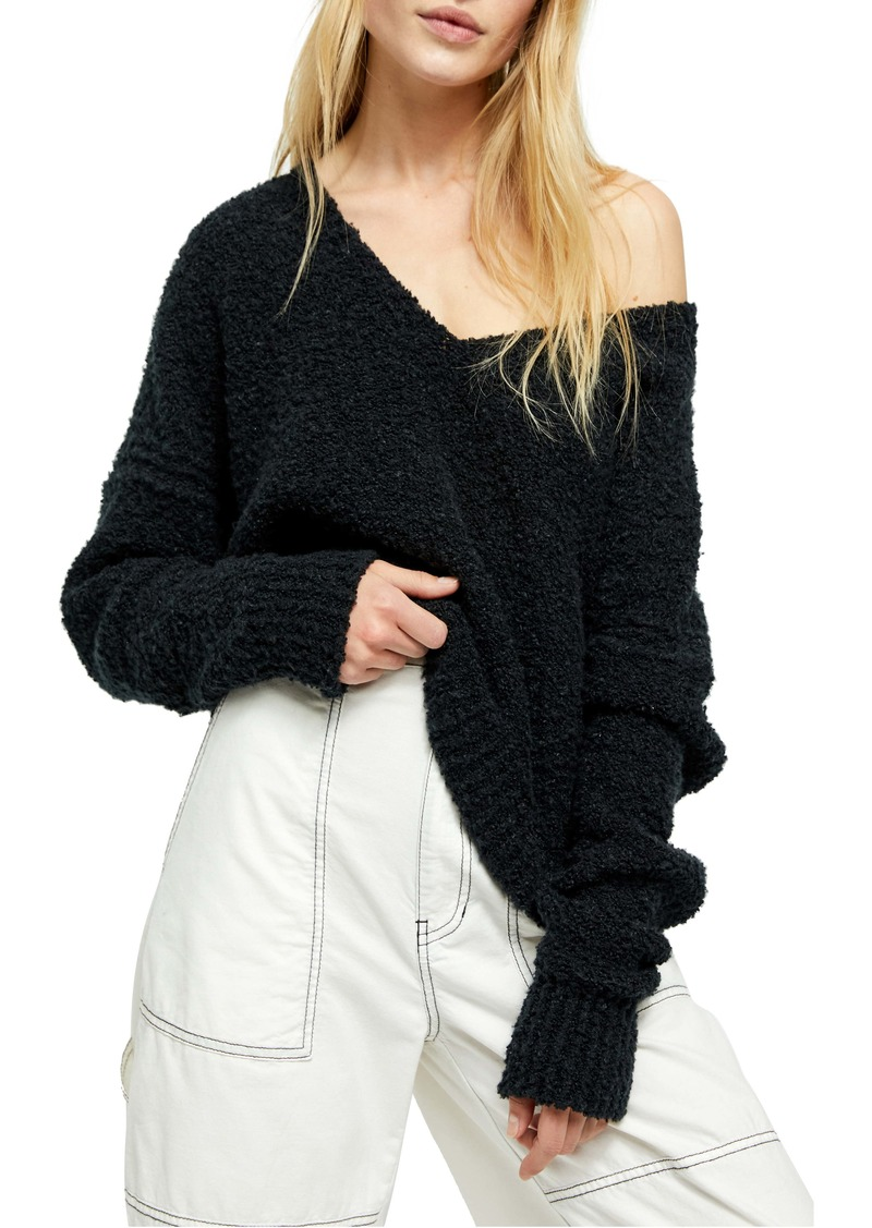 Free People Finder Keepers V-Neck Sweater