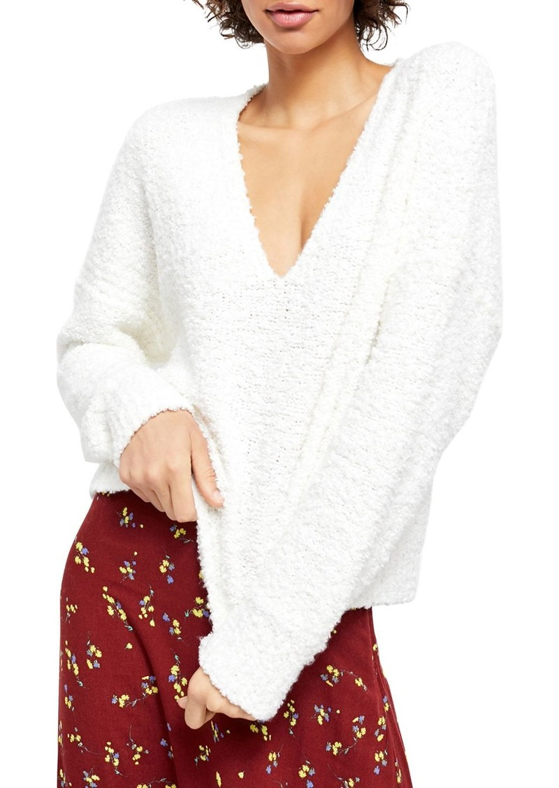 Free People Finders Keepers Textured Sweater