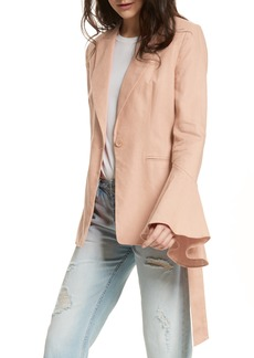 Free People Flared Sleeve Blazer