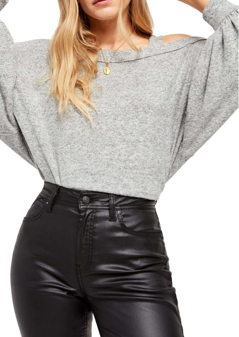 Free People Flaunt It Long Sleeve Tee