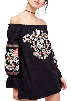 Free People Fleur Du Jour Shift Dress