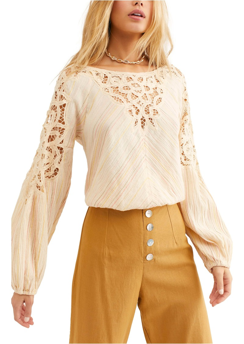 Free People Floating Memories Top