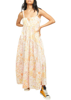 Free People Floral Maxi Sundress