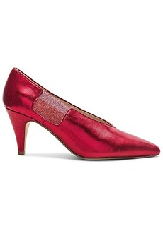 Free People Florence Heel in Red. - size 36 (also in 37,38,39,40,41)