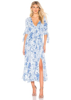 Free People Forever Always Midi Dress