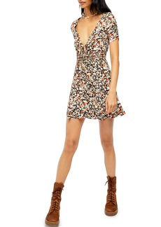 Free People Forget Me Not Floral Minidress