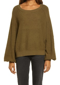Free People Found My Friend Bouclé Pullover