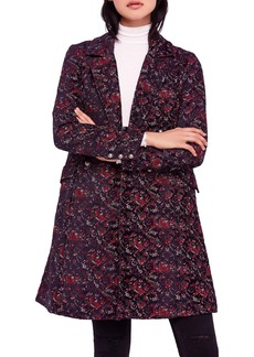 Free People Fox Trot Equestrian Coat
