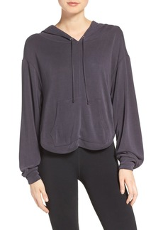 Free People FP Movement Back Into It Cutout Hoodie