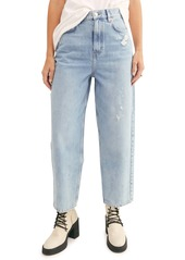 Free People Frank Dad Jeans (Icy Blue)