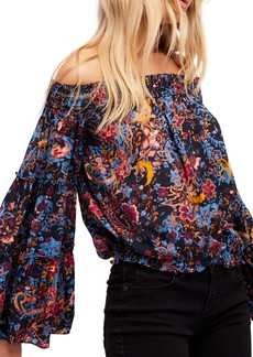 Free People Free Spirit Off the Shoulder Top