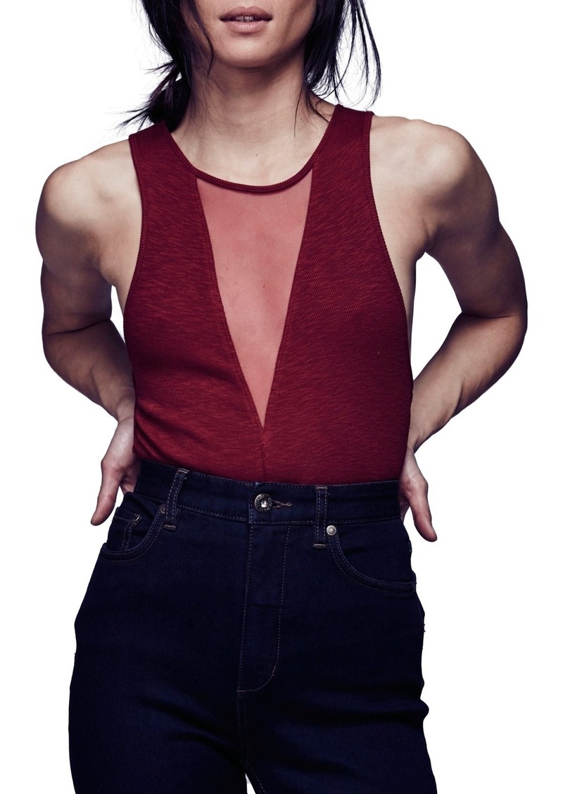 Free People 'Friday' Mesh Tank