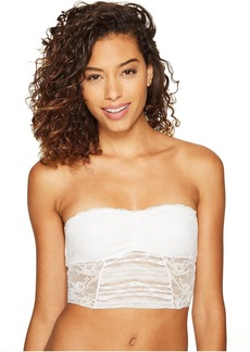 Free People Galloon Lace Cropped Tube Top