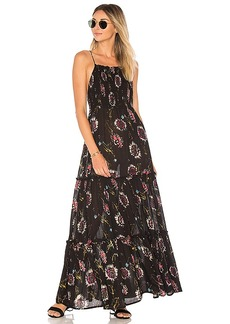 Free People Garden Party Maxi in Black. - size M (also in S,XS)