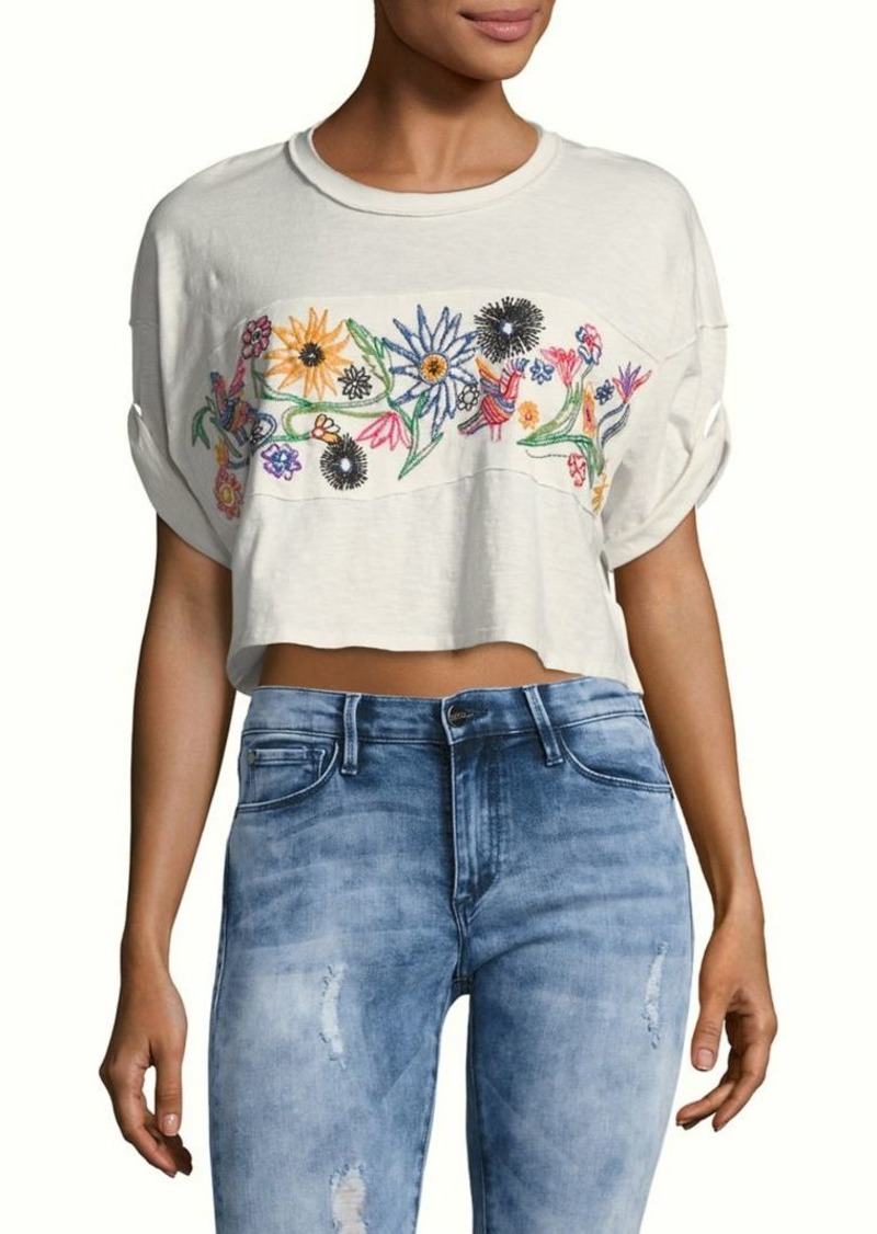 8129cebcda19a Free People Free People Garden Time Open-Back Crop Top