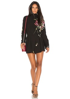 Free People Gemma Tunic Dress in Black. - size M (also in S,XS)