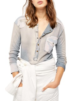Free People Gene Henley Shirt