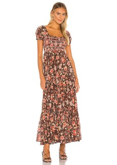 Free People Getaway Midi Dress