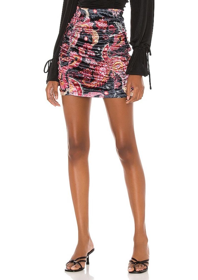 Free People Gigi Mini Printed Skirt
