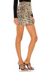 Free People Gigi Mini Printed Skirt