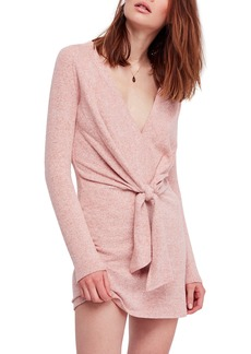Free People Ginger Cozy Tie Front Dress